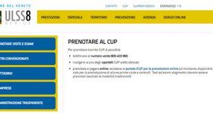 Cup Vicenza centro unico prenotazioni per visite ed esami