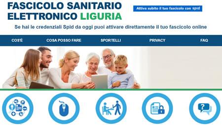 Fascicolo sanitario Liguria