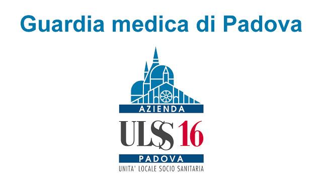 Guardia medica Padova, orari croce verde e provincia